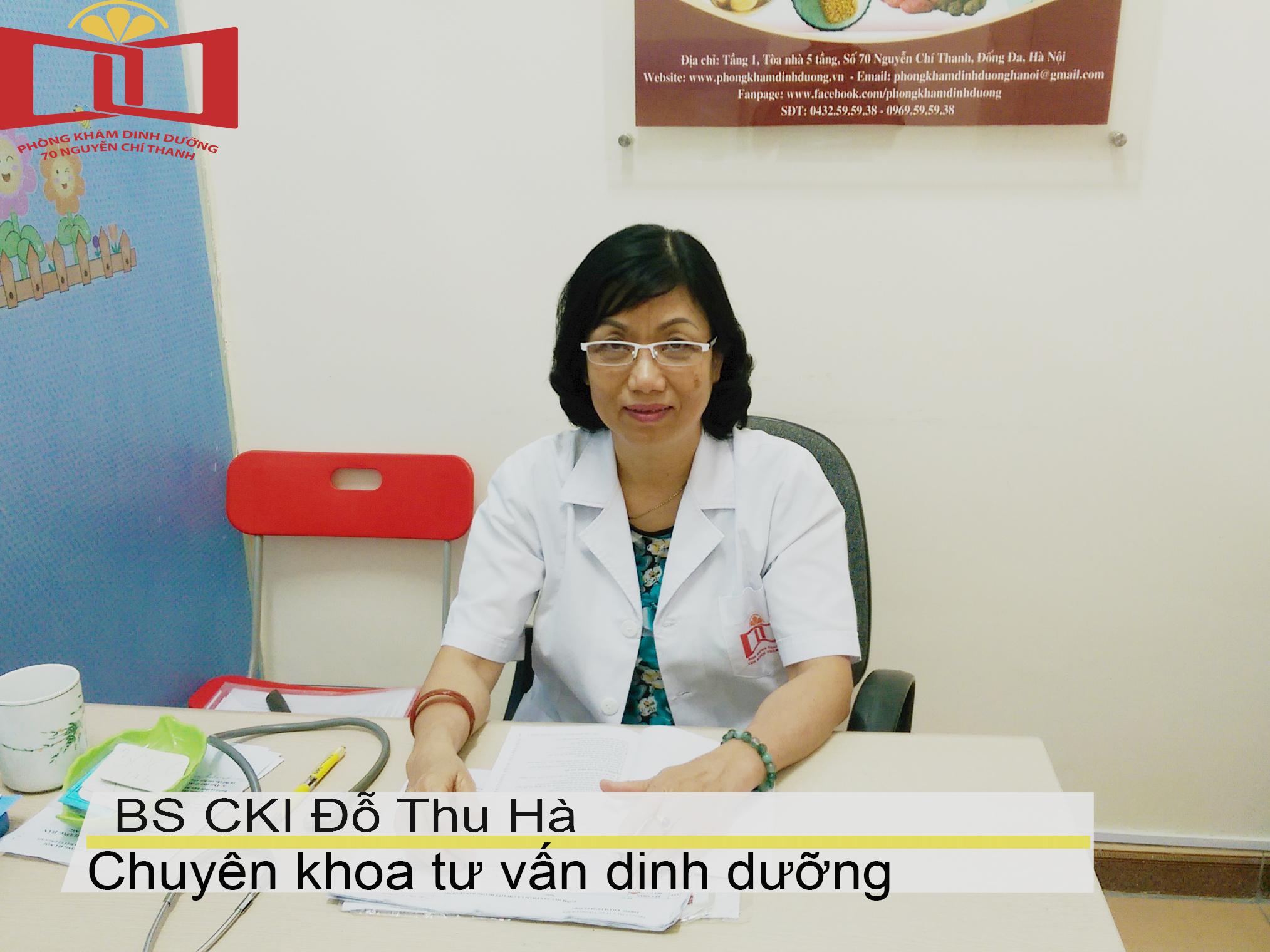 Bác sĩ CKI Đỗ Thu Hà