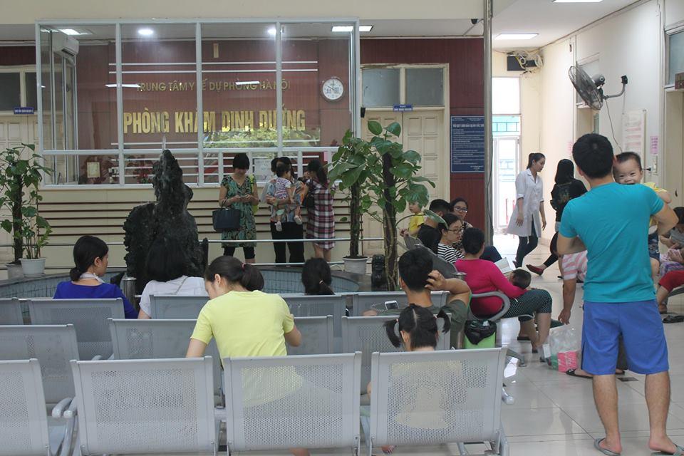 Phòng khám dinh dưỡng chất lượng cao_ 70 Nguyễn Chí Thanh những ngày đầu tháng 5/2018.